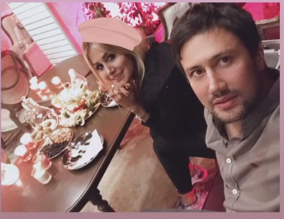 عاشقانه شاهرخ استخری و همسرش