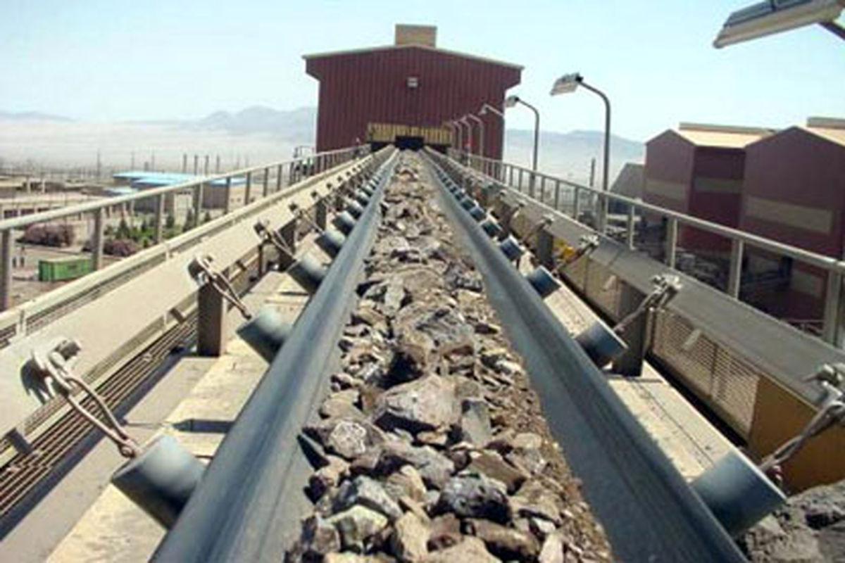 پذیرش ۳۰۰ هزار تن کلوخه سنگ آهن سنگان در بورس کالا