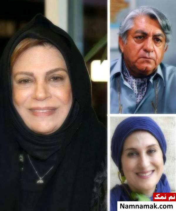فاطمه معتمد آریا و عزت الله انتظامی و گوهر خیر اندیش ، بازیگران مورد علاقه ی الهام حمیدی