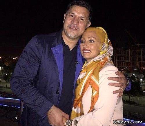 مونا فرخ اذری و علی دایی