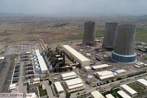 تحویل موقت واحد اول بخار نیروگاه سیکل ترکیبی سبلان