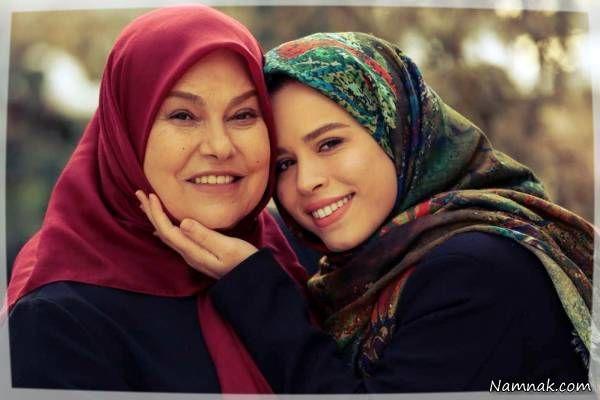 ملیکا شریفی نیا و مهرانه مهین ترابی