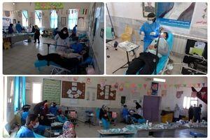 ارائه 2744 مورد خدمات درمانی رایگان به 1178 مراجعهکننده در روستای قلعهزری
