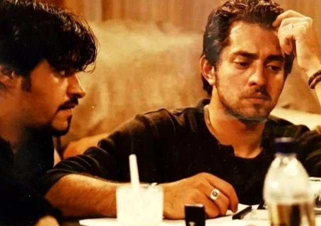 شهاب حسینی و بهرام رادان در فیلم شمعی در باد