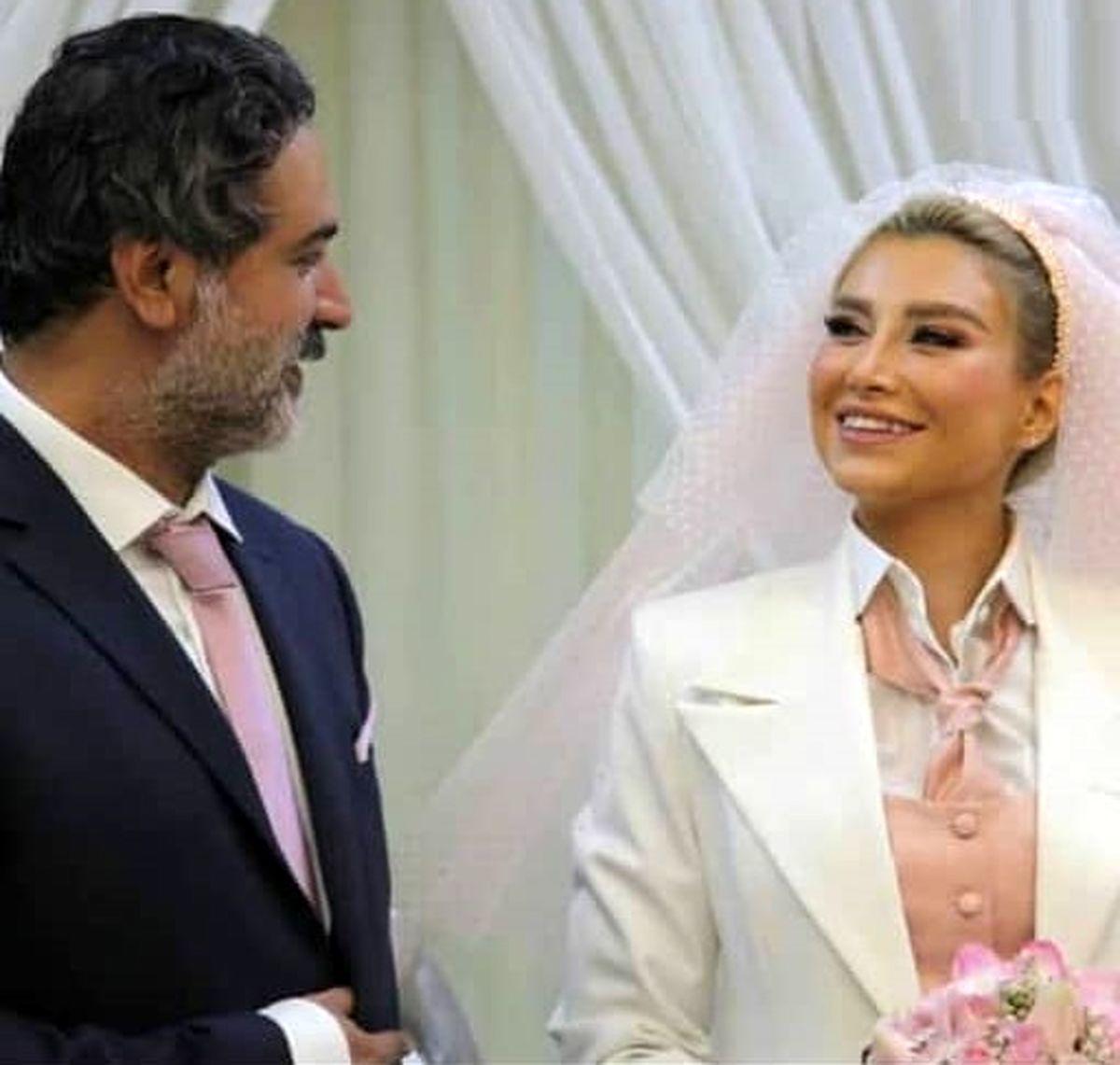 عاشقانه جدید عمار تفتی و همسرش + عکس
