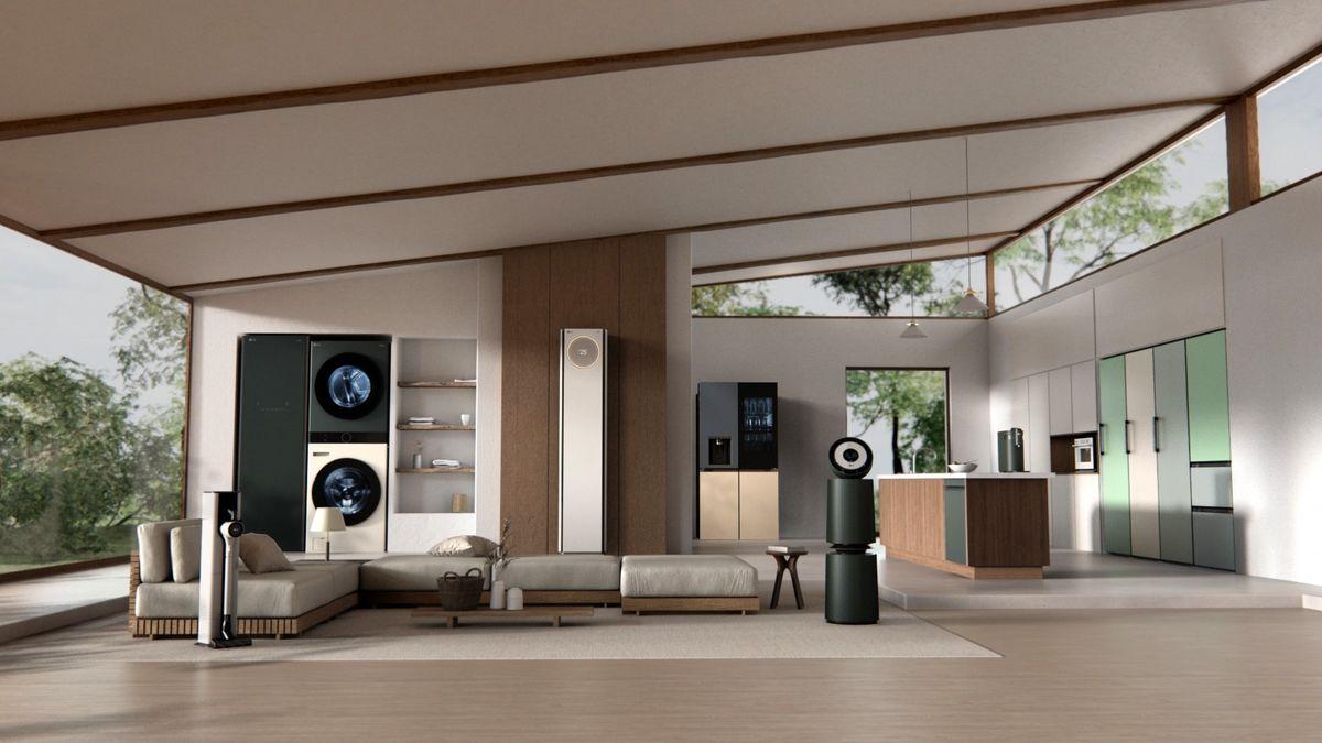 مجموعه LG Object، پیشرو در صنعت لوازمخانگی لوکس و زیبا