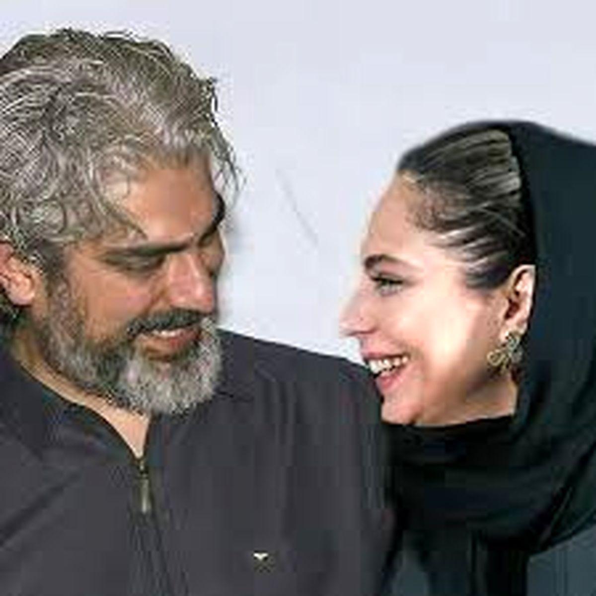 سلفی مهدی پاکدل و همسرش به مناسبت تولد + عکس