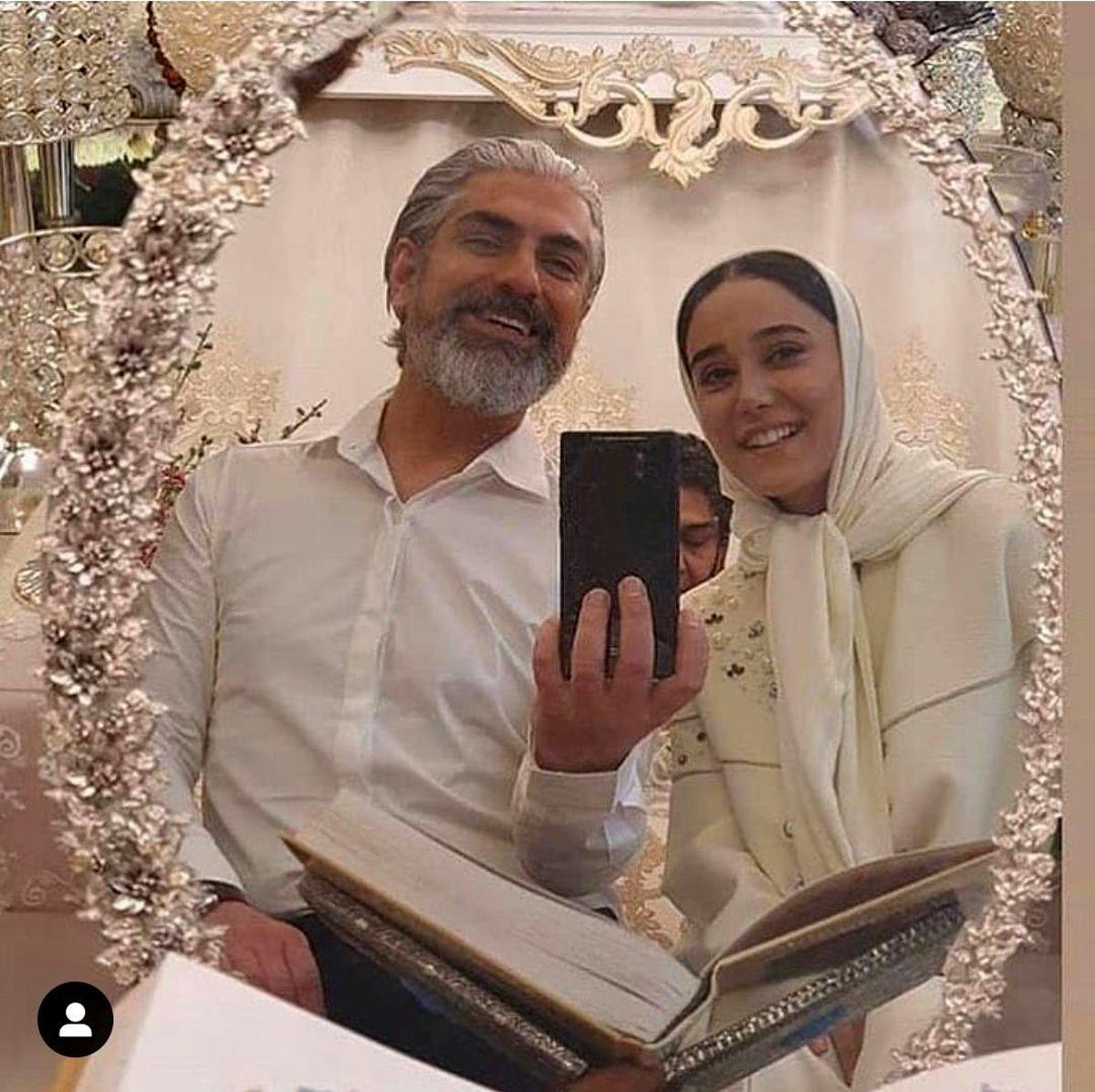 همسر بهنوش طباطبایی از همسر جوانش رونمایی کرد + عکس مراسم ازدواج
