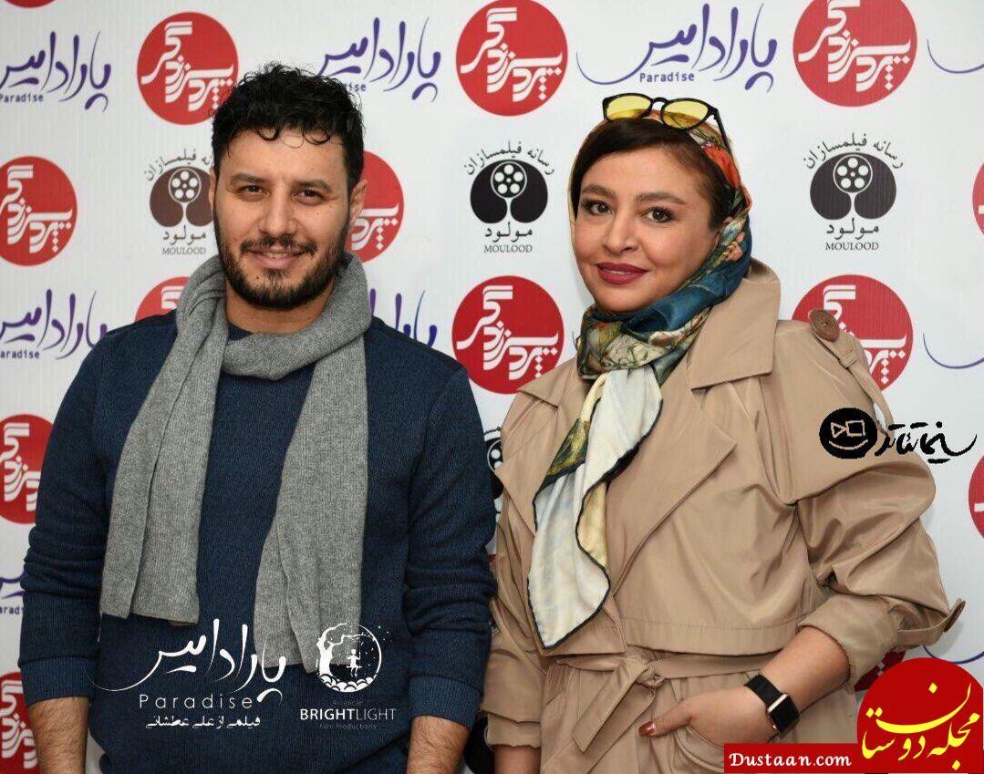 بیوگرافی و عکس های دیدنی جواد عزتی و همسرش مه لقا باقری