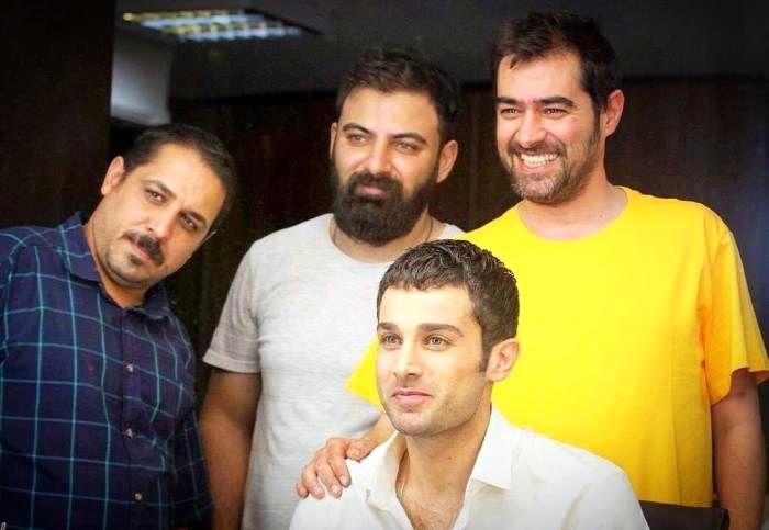 شهاب حسینی و آرمان درویش