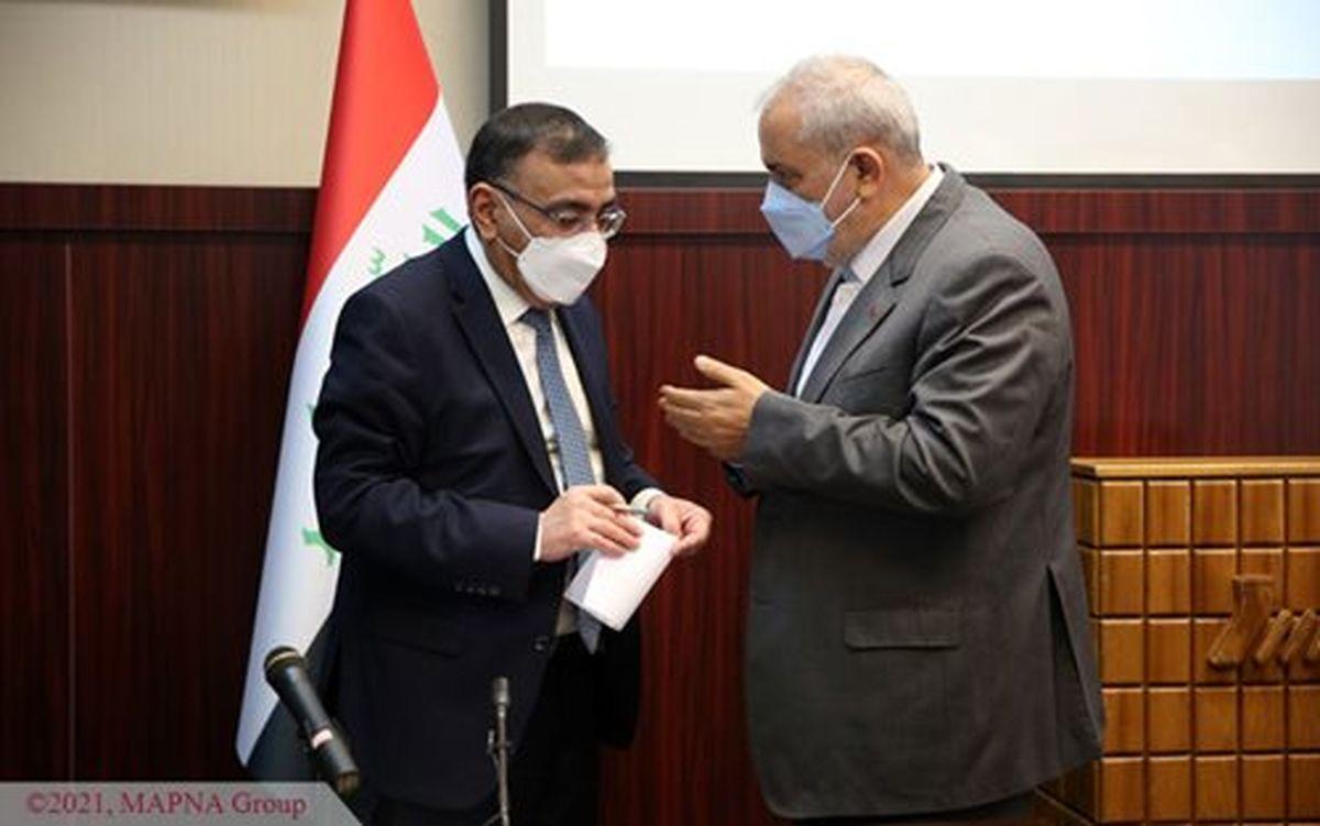 وزیر برق عراق میهمان گروه مپنا شد