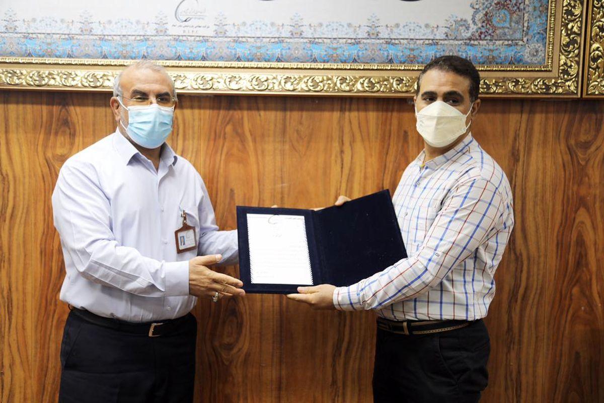 کارگر پتروشیمی بندرامام در استان خوزستان، نمونه شد