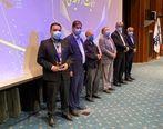 شرکت گسترش صنایع بلوچ نشان ملی جشنواره حاتم را دریافت کرد