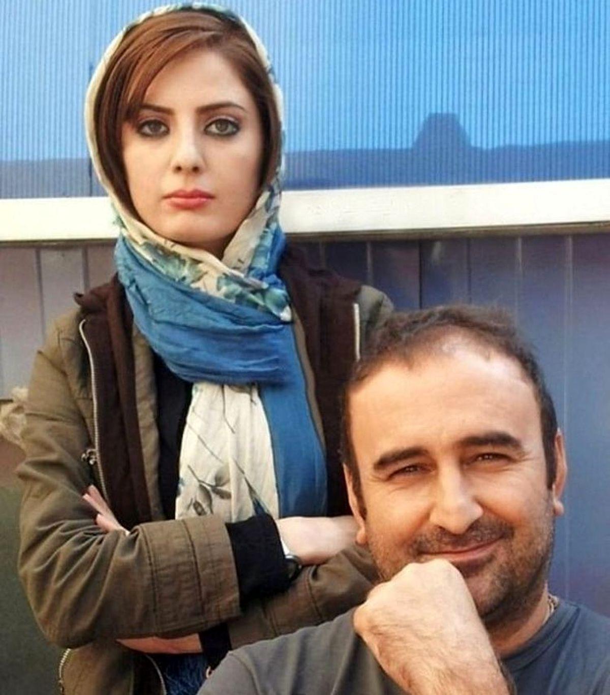 بازیگر معروف پایتخت در استخر ویلای لاکچری اش + عکس