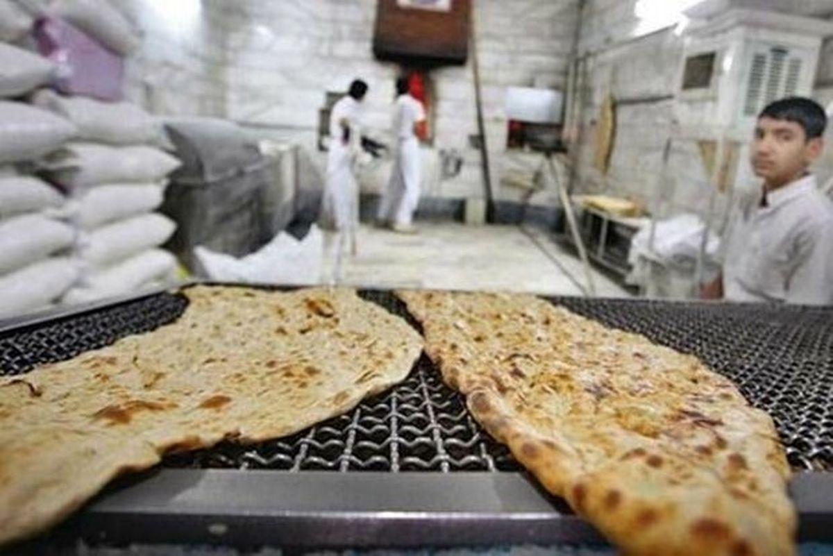 افزایش قیمت نان ممنوع است