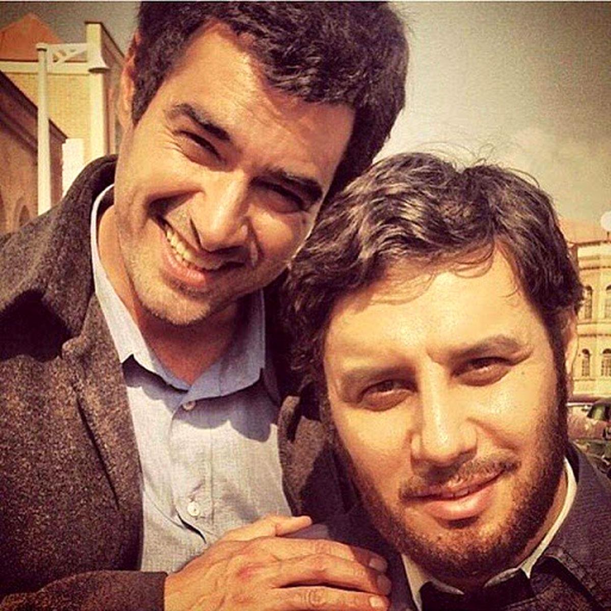 شوخی جنجالی شهاب حسینی با جواد عزتی + فیلم