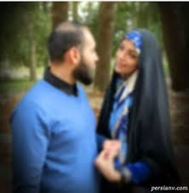 عاشقانه الهام چرخنده و همسرش + عکس