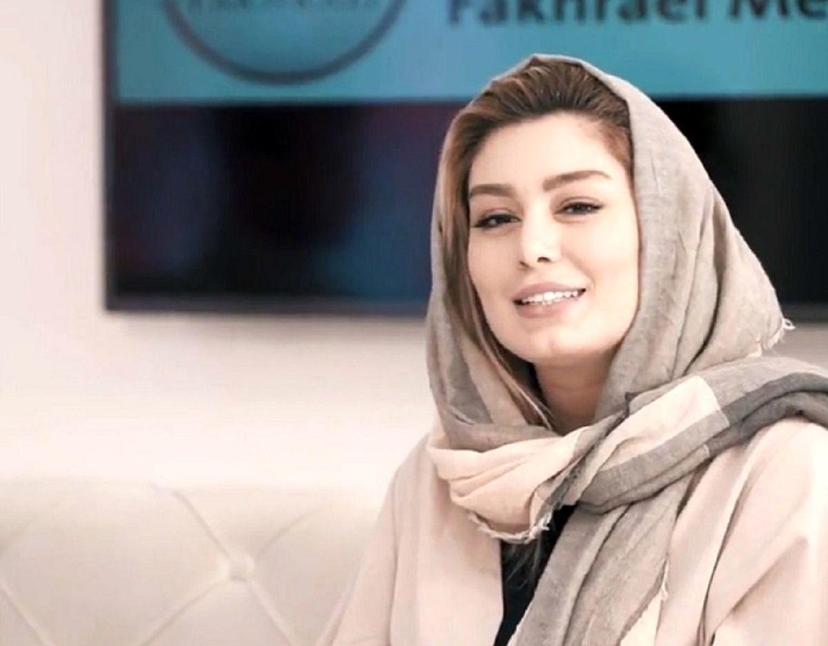 حاشیه سحر قریشی با کارگردان معروف + عکس