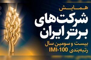 تاپیکو، هجدهمین شرکت در فهرست یکصد شرکت برتر ایران شد