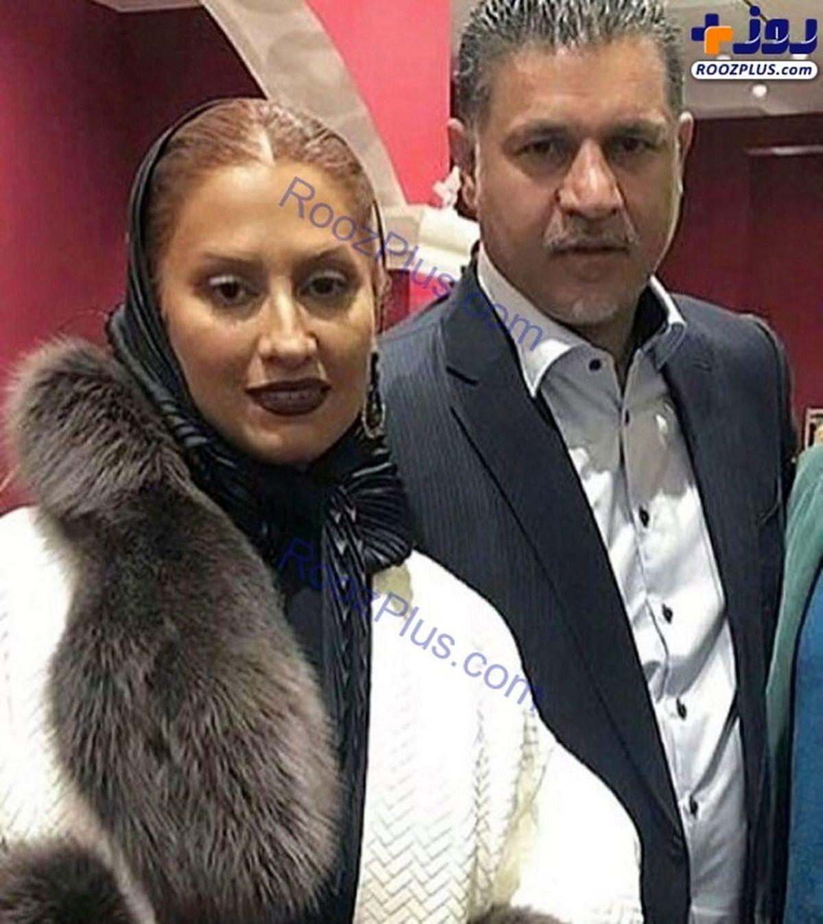 همسر دوم و جوان علی دایی کیست + عکس دونفره