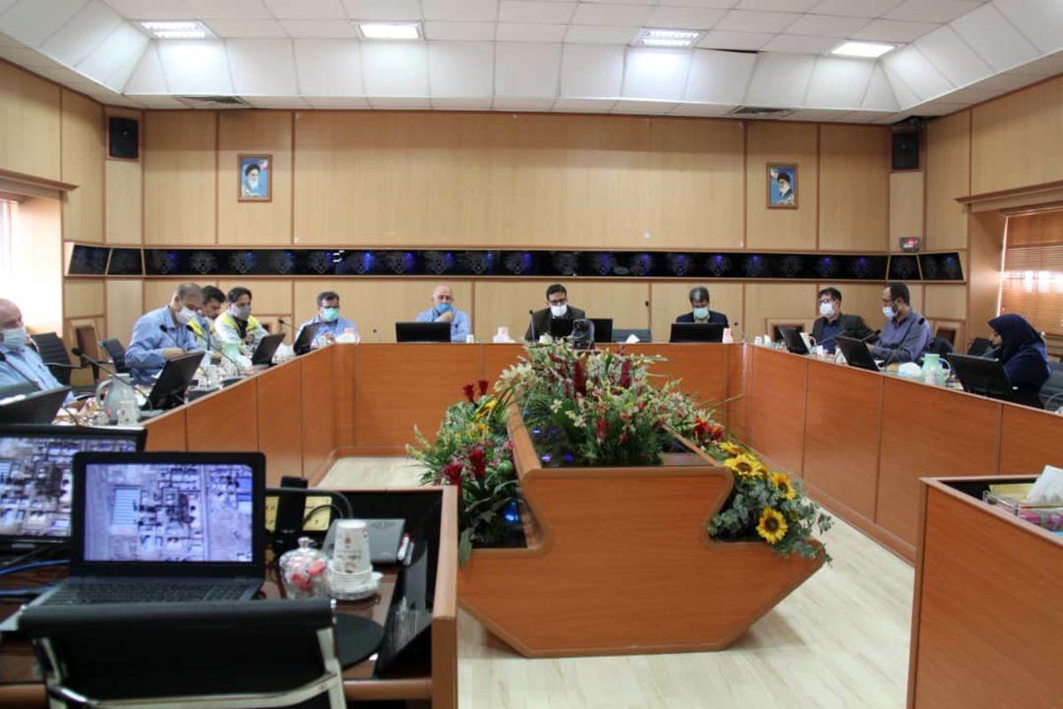 بازدید مدیرکل دفتر بررسی و مقابله با آلودگیهای دریایی سازمان حفاظت محیط زیست کشور از مجتمع پتروشیمی اروند