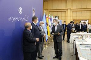 قدردانی رییس کمیته امداد امام خمینی (ره) از مدیر عامل بانک ملت