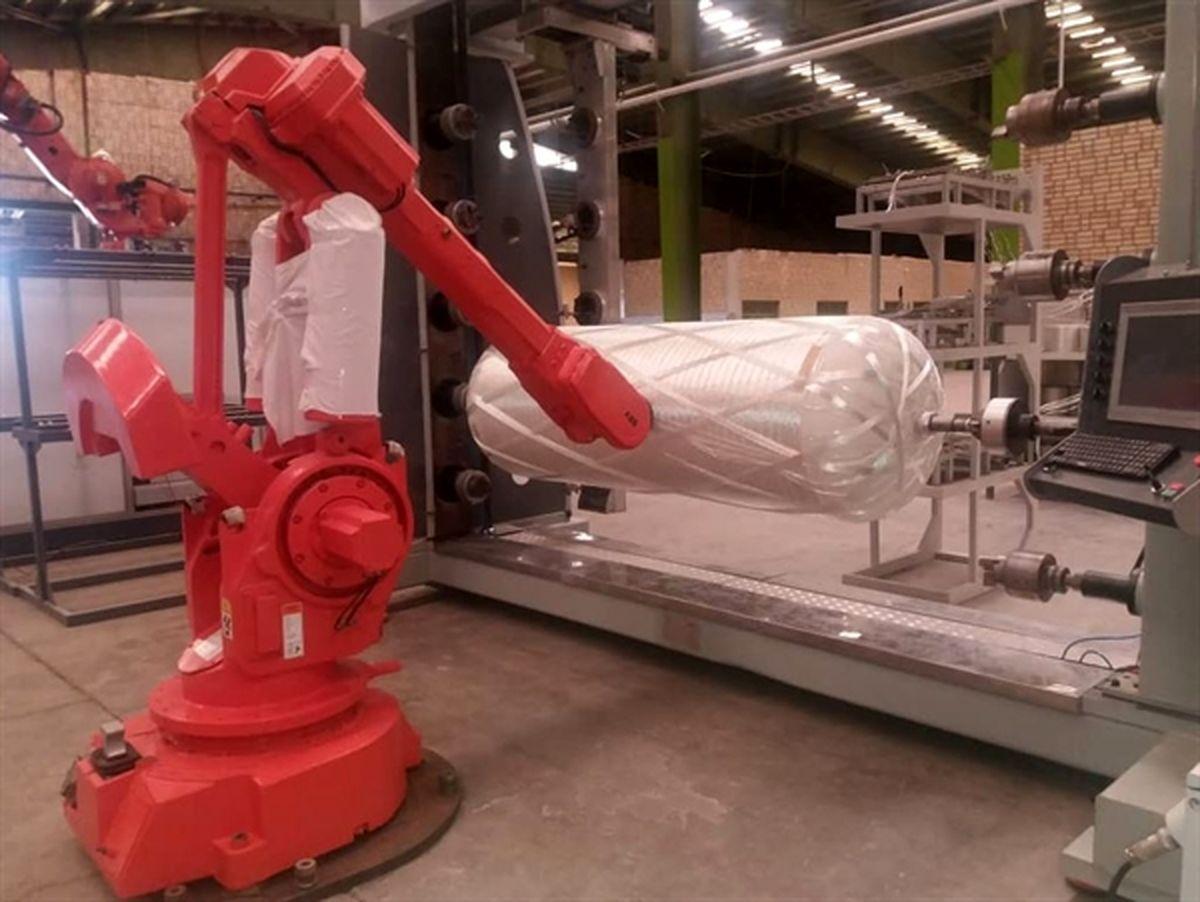 بازگشت 7 دستگاه ربات مخزن ساز متروکه به خط تولید