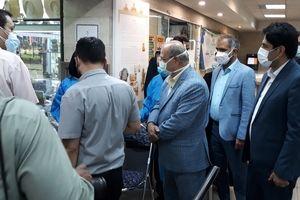 بازدید سرزده دکتر زالی از پایگاه تجمیعی واکسیناسیون مستقر در مجموعه فرهنگی تاریخی نیاوران