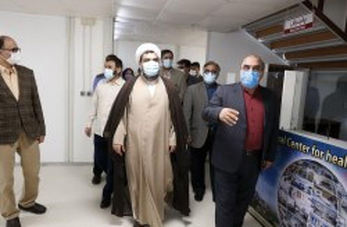 جداسازی بخش تشخیص و بستری بیماران کرونایی از بیمارستان کیش