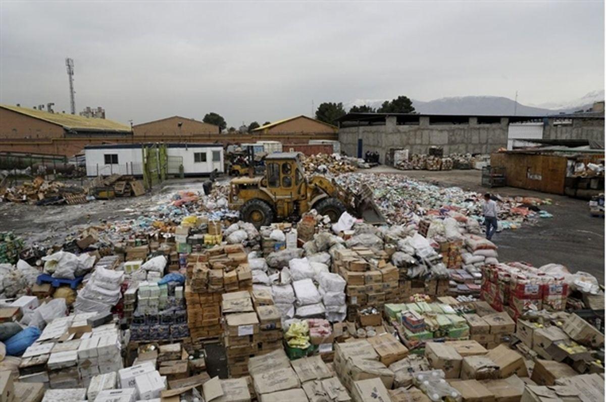 بیش از یک هزار تن کالای غیر استاندار در 6 استان کشور معدوم شد