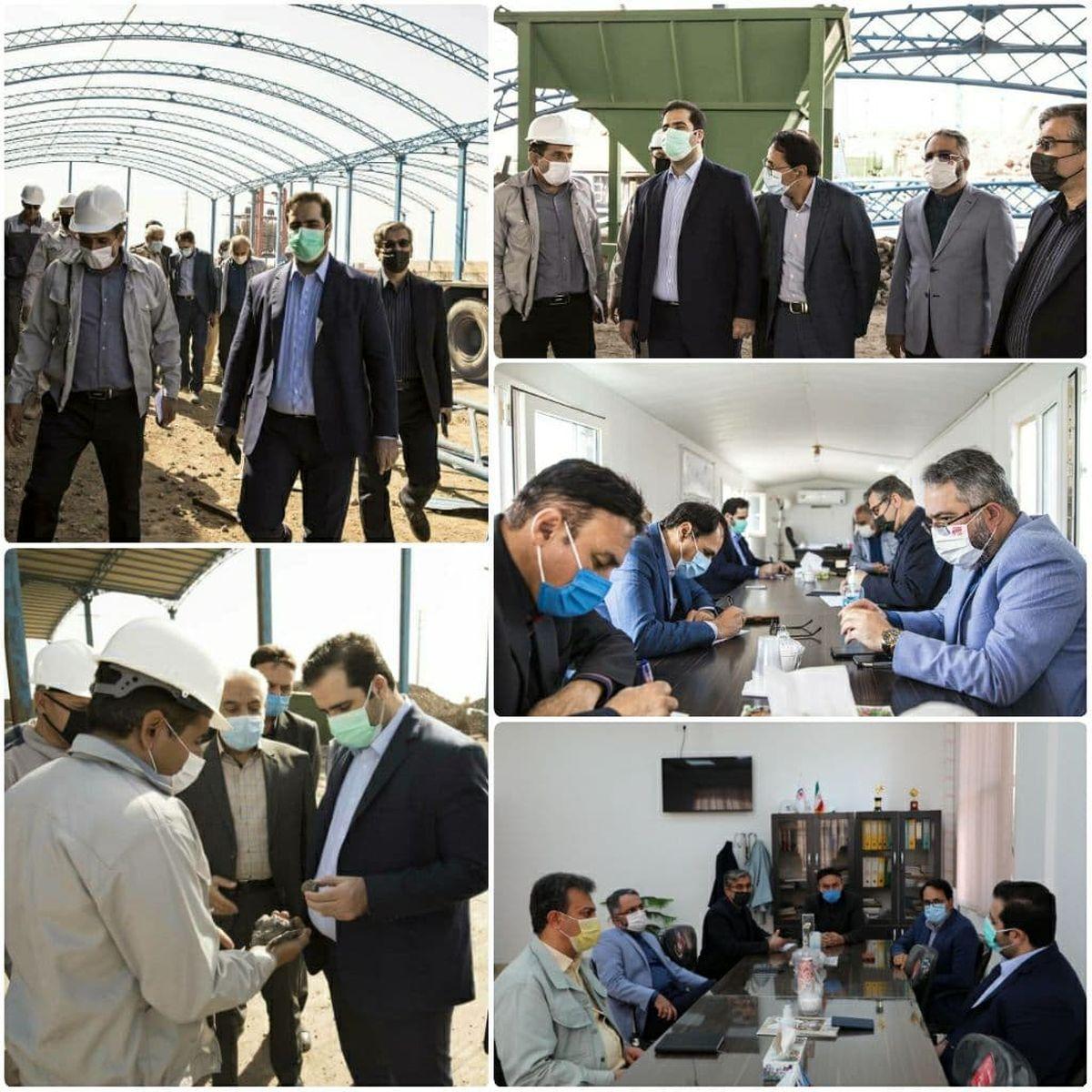 مدیرعامل فولاد خراسان از شرکت های همکار در شهرک صنعتی عطار نیشابور بازدید کرد