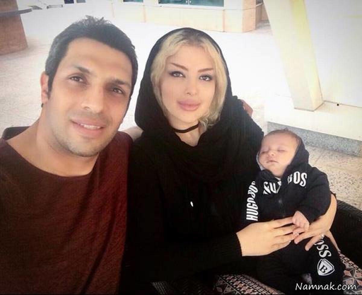 سپهر حیدری و همسر میلیاردرش در دبی / عکس لو رفته