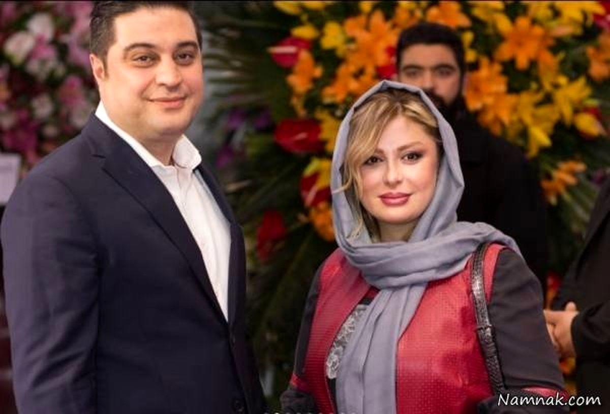 طلاق نیوشا ضیغمی صحت دارد؟/ جشن تولد نیوشا ضیغمی بدون همسرش + عکس