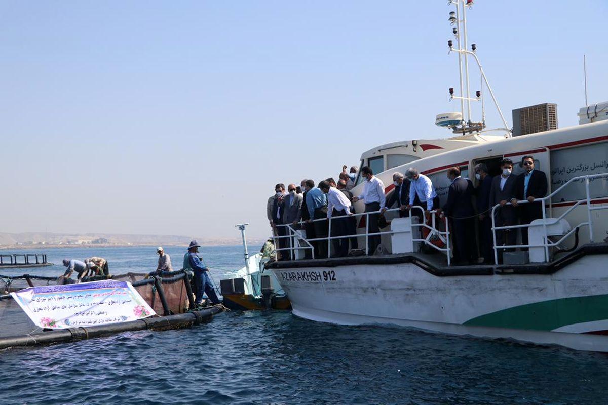 تأمین امنیت غذایی کشور با تکیه بر ظرفیتهای دریایی قشم