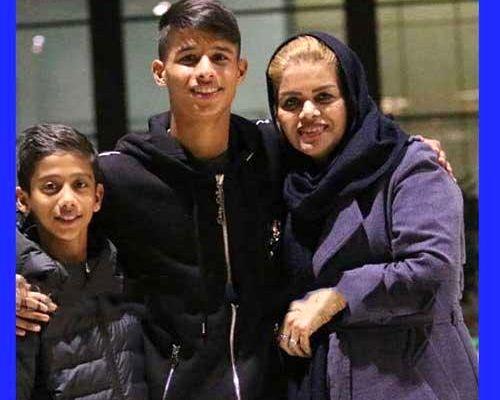 بیوگرافی مهدی قائدی و همسرش + عکس های جدید