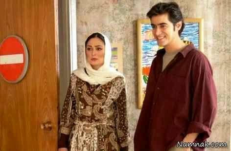 شهاب حسینی و الهام حمیدی در فیلم بچه های ابدی