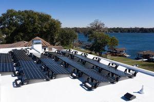 پنلهای خورشیدی پیشرفته الجی، در خدمت محیط زیست