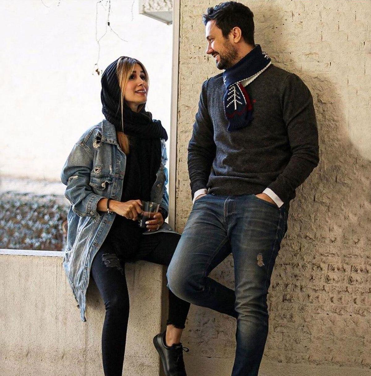 دلبری دختر زیبا برای شاهرخ استخری + فیلم