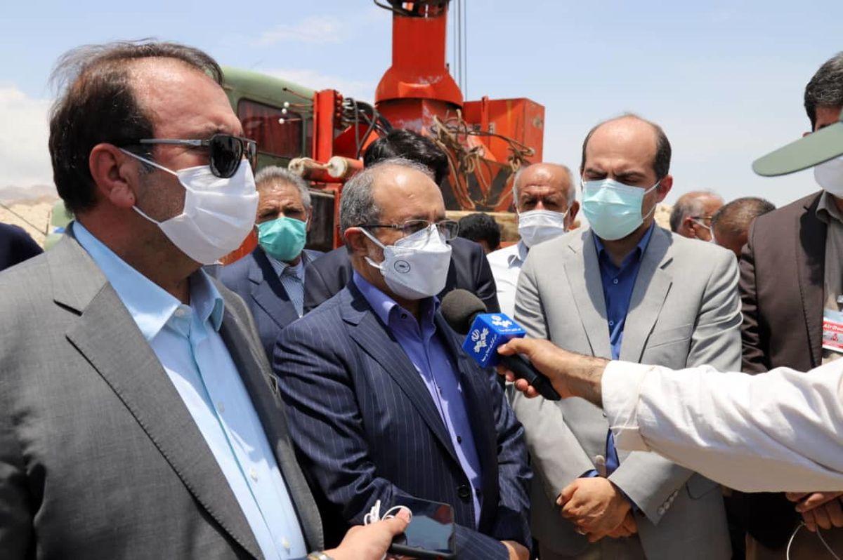 آغاز عملیات لوله گذاری خط انتقال آب از خلیج فارس به لامرد در استان فارس