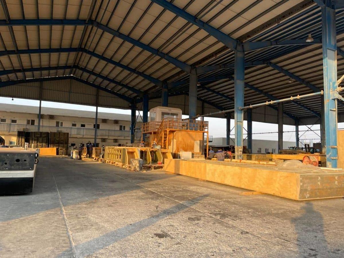 بازدید از ظرفیت های قشم در حوزه تولید سازه های دریایی