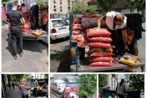اهداء بیش از سه تن برنج به دو موسسه خیریه از سوی افق کوروش